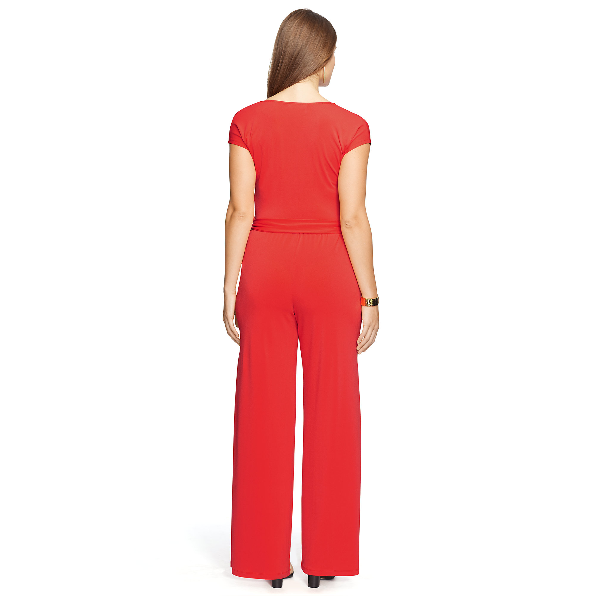 14dfe23a78 Lyst - Pink Pony Jersey Wide-leg Jumpsuit in Pink
