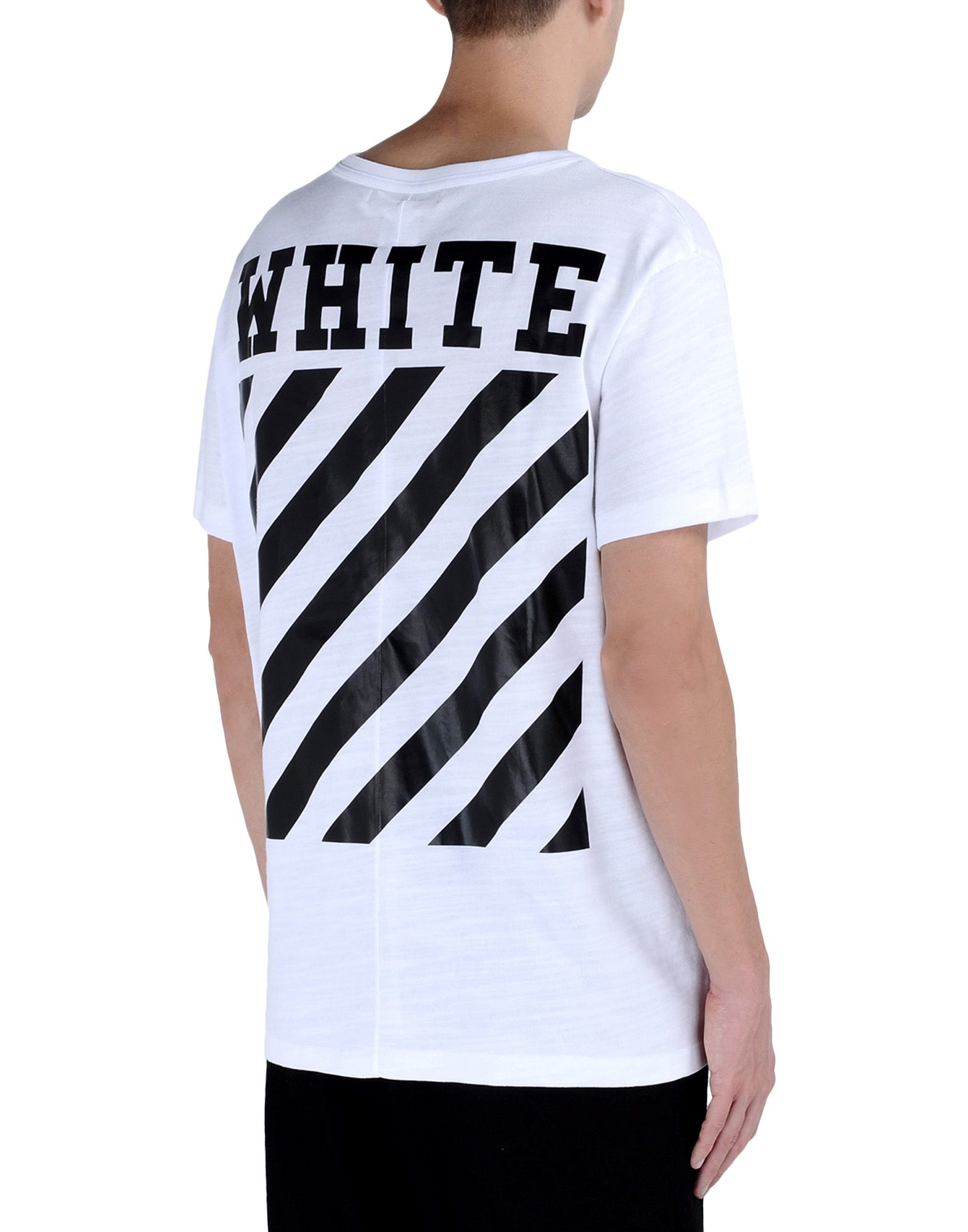 Off White C O Virgil Abloh Short Sleeve T Shirt In White