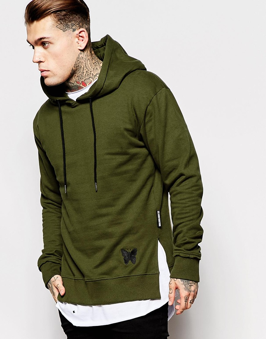 Good for nothing Hoodie in Green for Men | Lyst