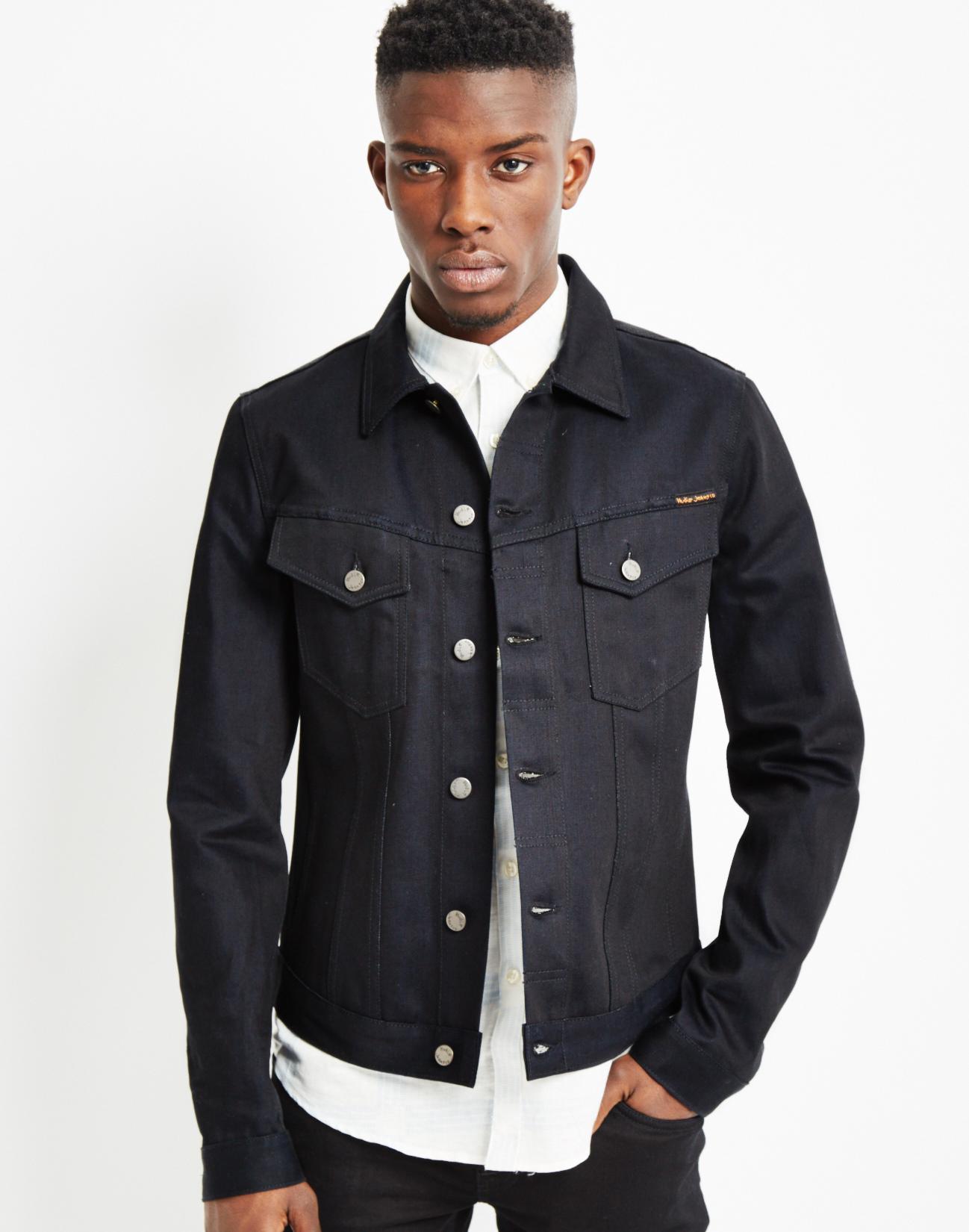 628cd16a76c Blue Denim Jacket Black Shirt