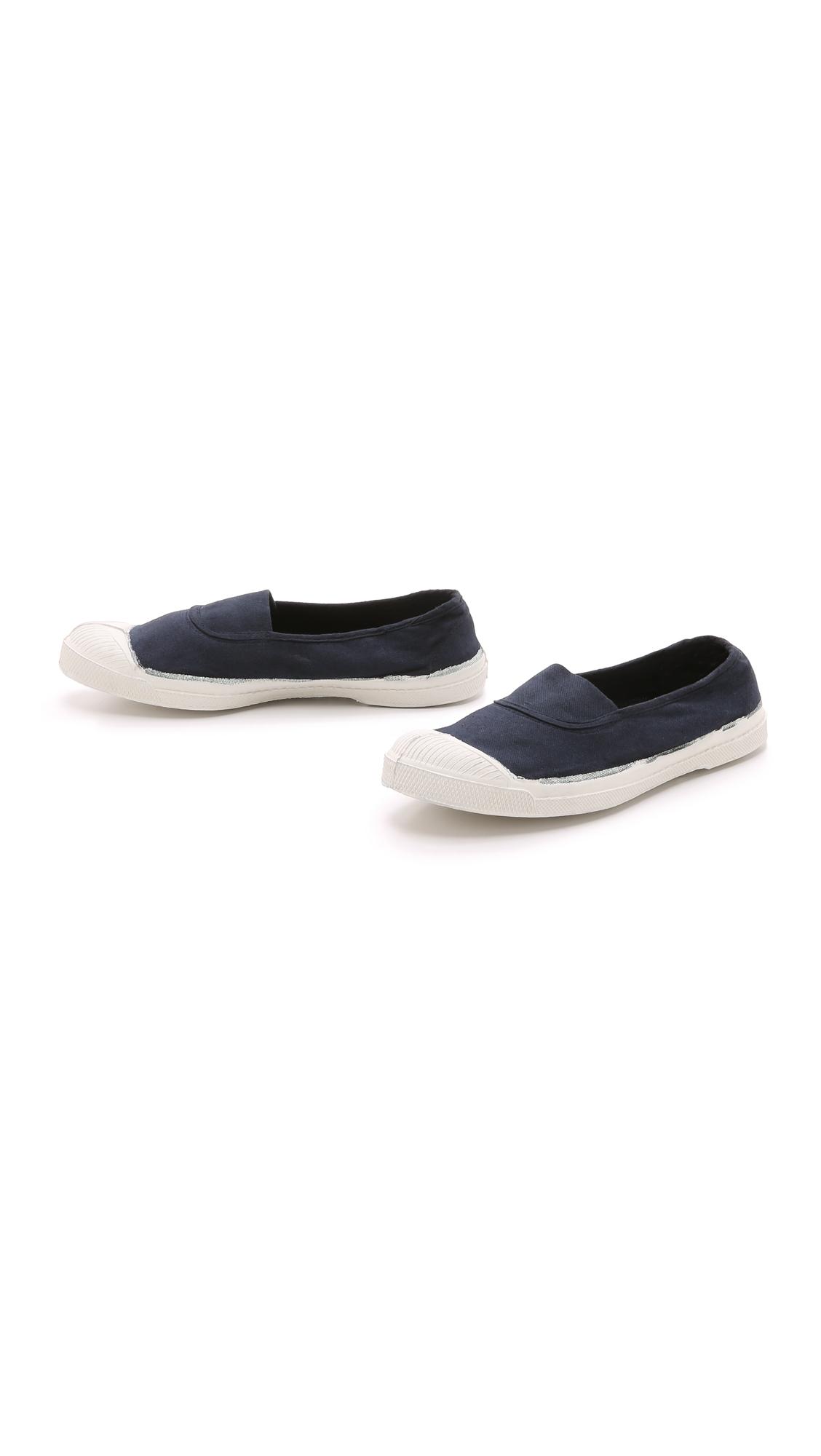 Bensimon Tennis Elastique Sneakers in Navy (Blue)