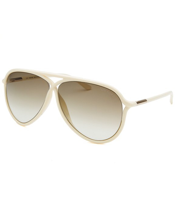 tom ford womens maximillion cream sunglasses in beige for men lyst. Cars Review. Best American Auto & Cars Review