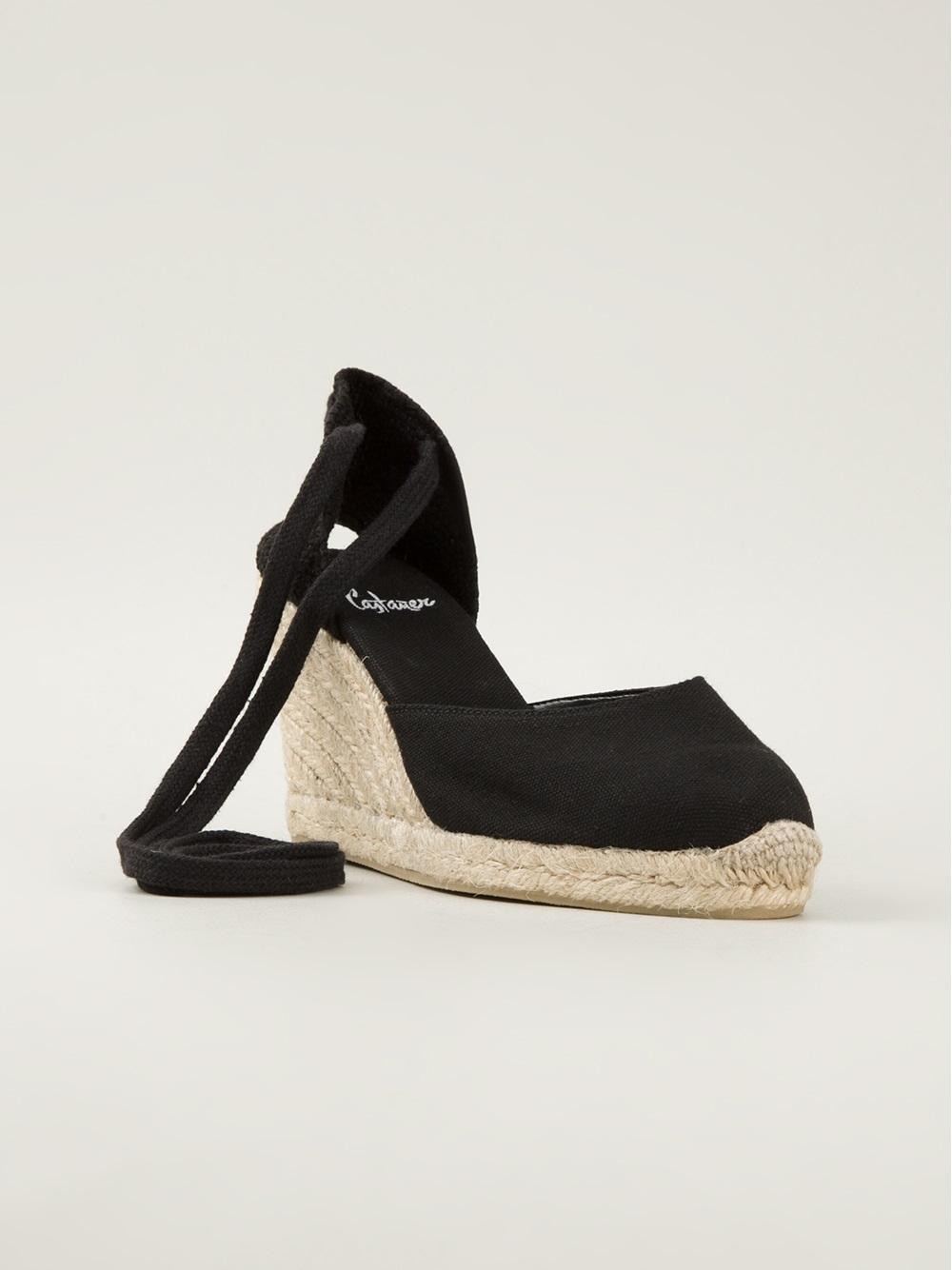Castaner Carina Espadrille Sandals In Black Lyst