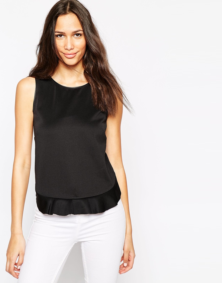 new ladies sleeveless peplum top skater womens frill peplum flared top 8 - 26 Email to friends Share on Facebook - opens in a new window or tab Share on Twitter - opens in a new window or tab Share on Pinterest - opens in a new window or tab.