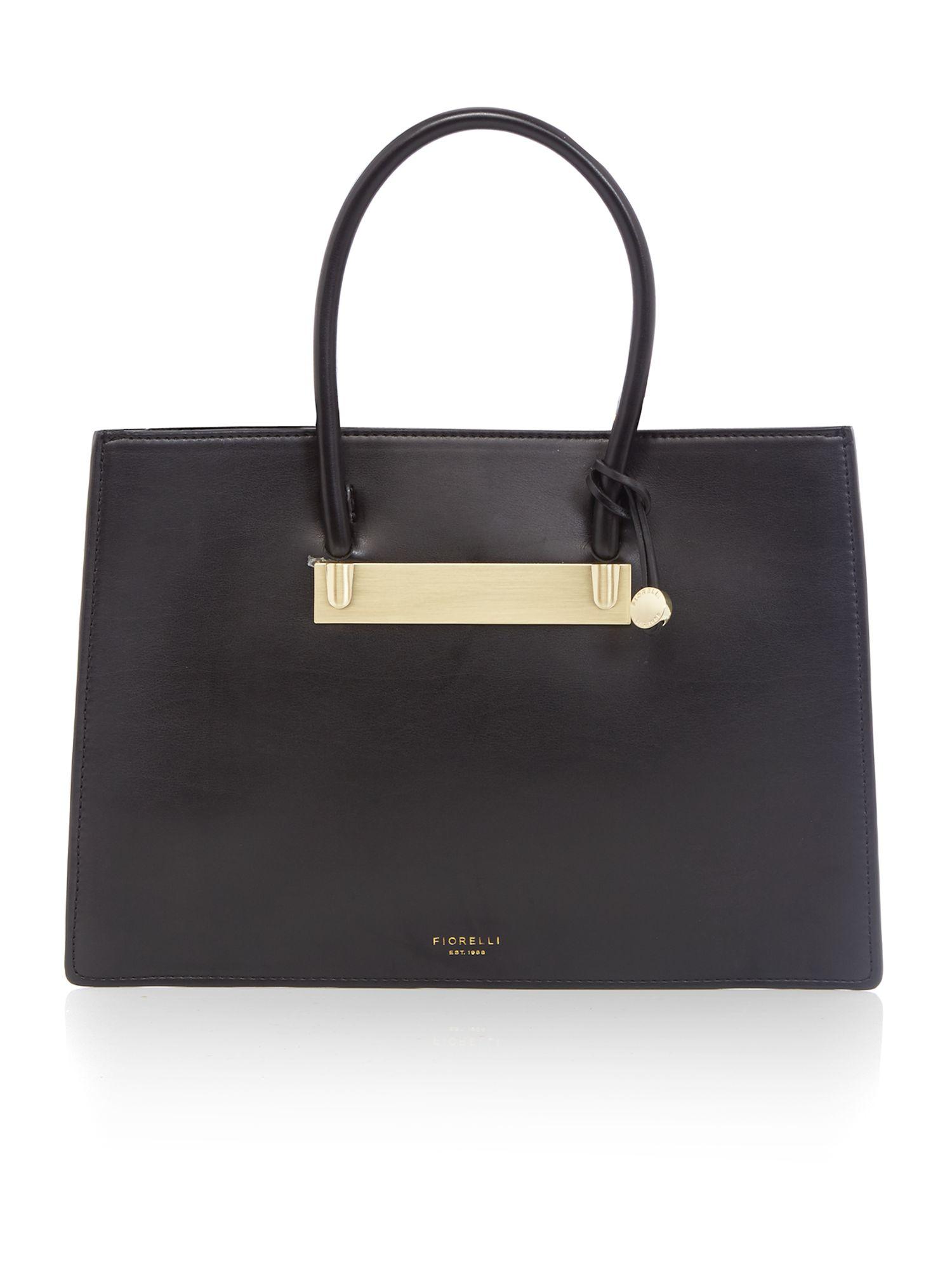 Fiorelli Aspen Black Medium Grab Tote Bag