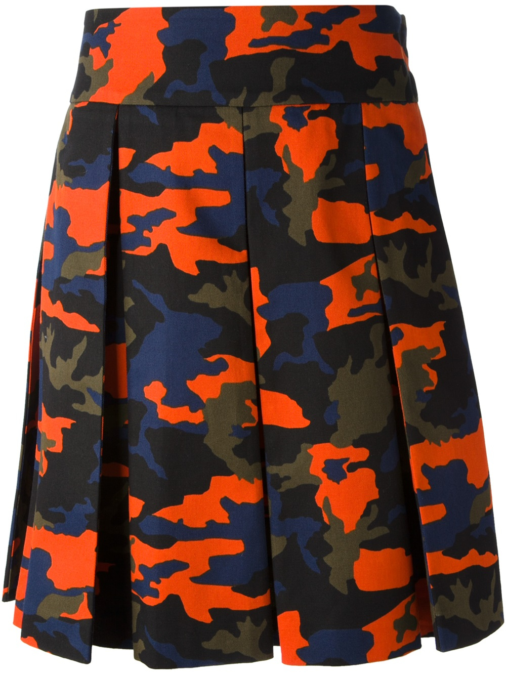 Lyst - Givenchy Camouflage Kilt in Green for Men c7553a16d270