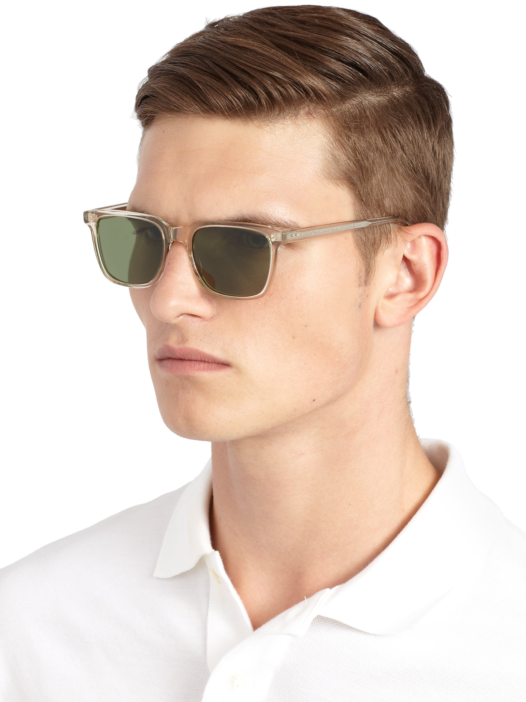 54fcb25f9de Lyst - Oliver Peoples Ndg Sun 50mm Acetate Sunglasses for Men