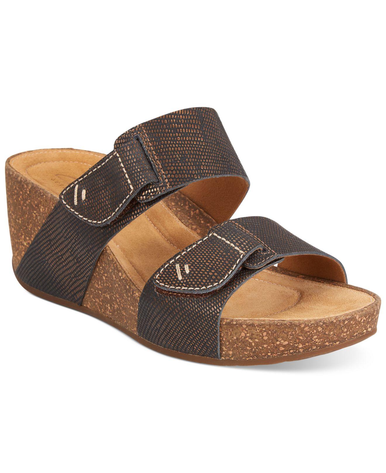 4210286356452 Lyst - Clarks Artisan Women S Temira East Platform Wedge Sandals in ...