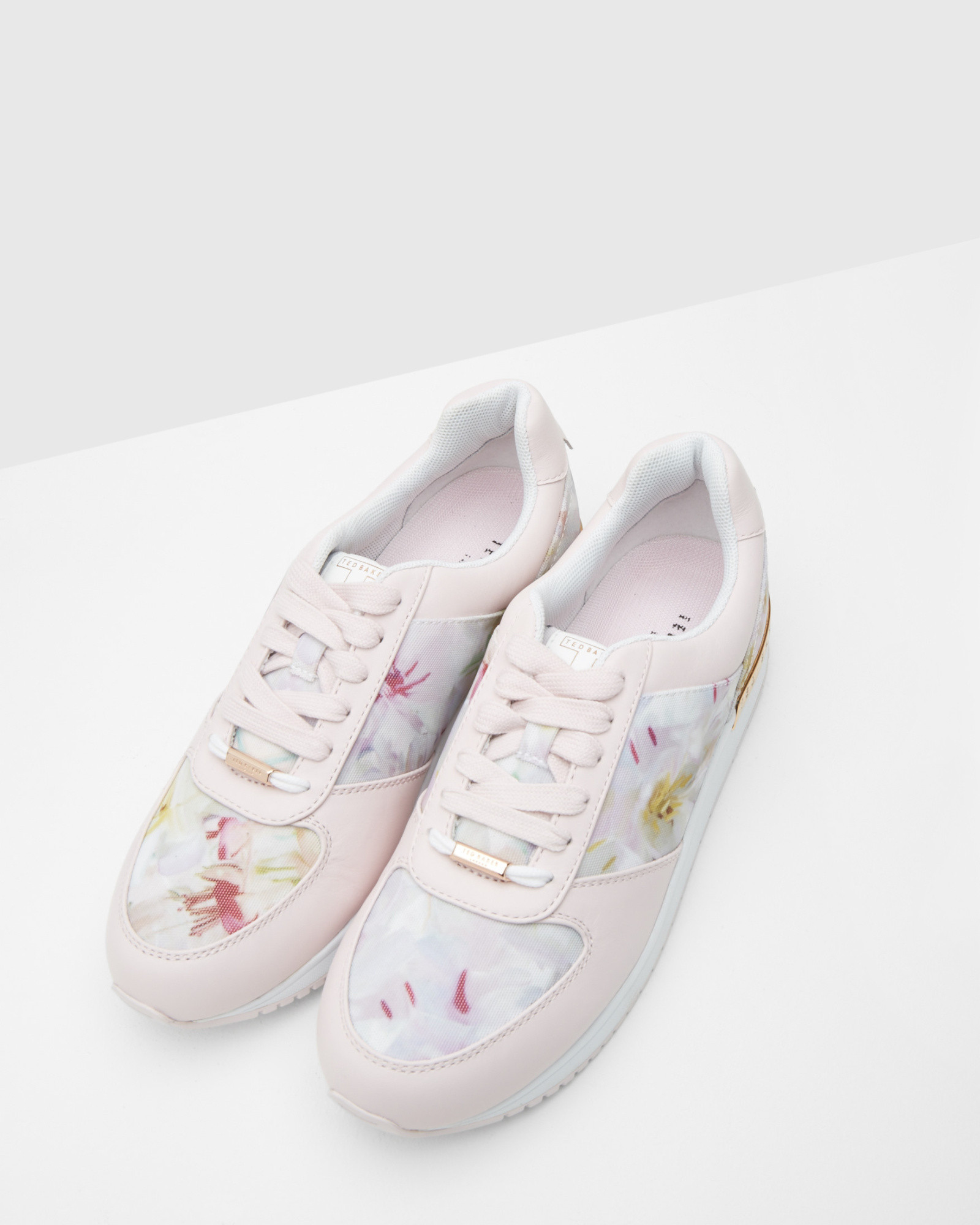 ec042859b2738f Ted baker floral print trainers in pink lyst jpg 1600x2000 Ted baker baby  shoes