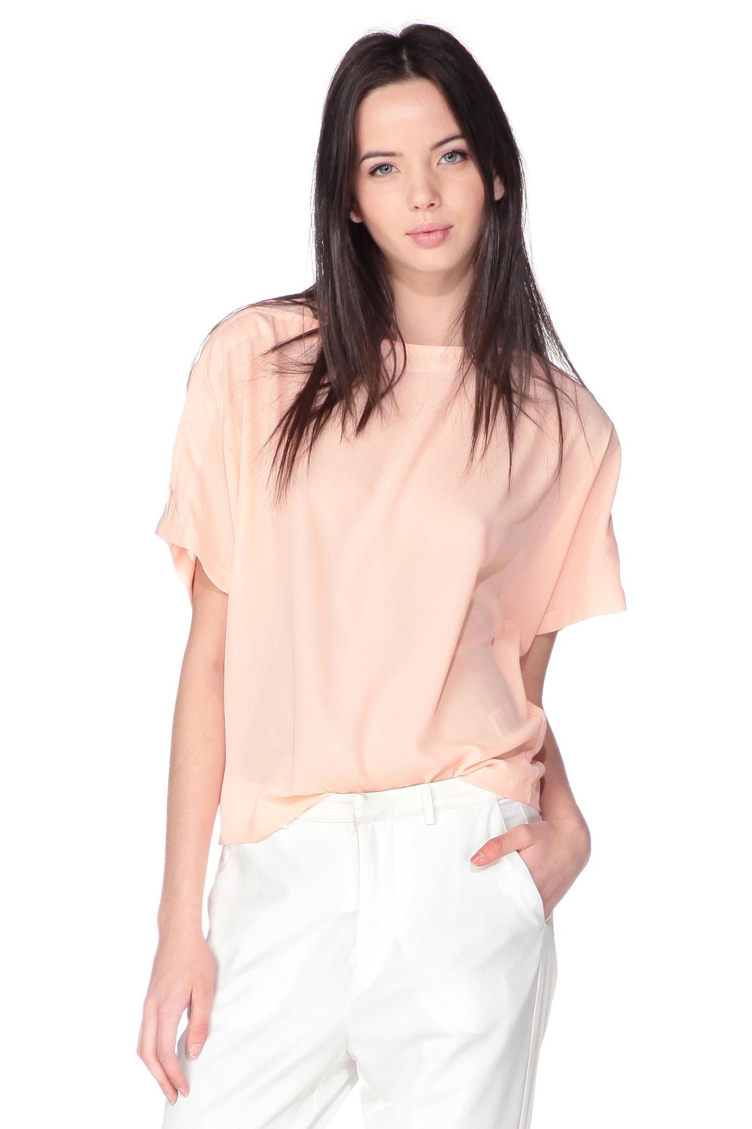 Vero moda Short Sleeve Top in Pink