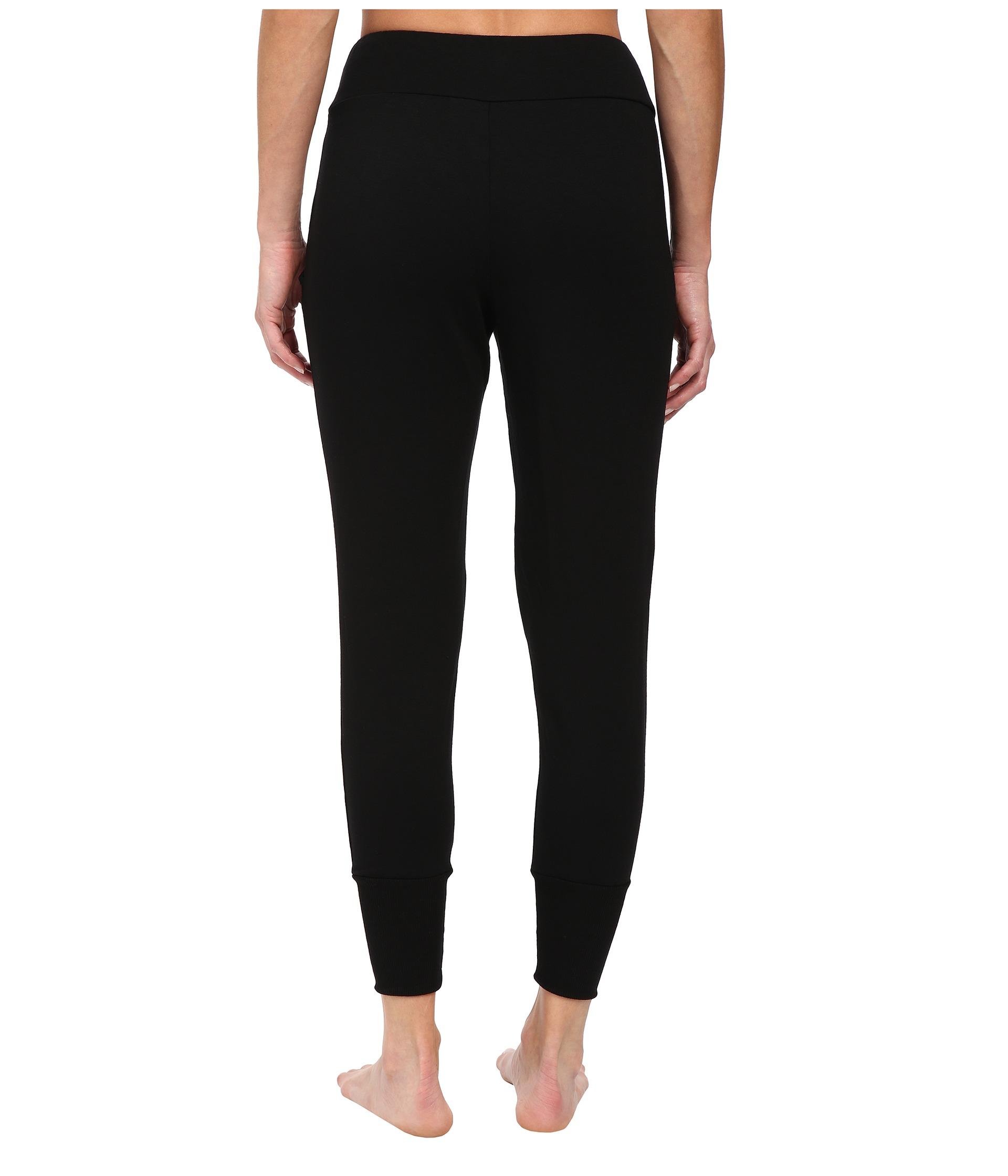 Beyond Yoga Long Freestyle Pants In Black