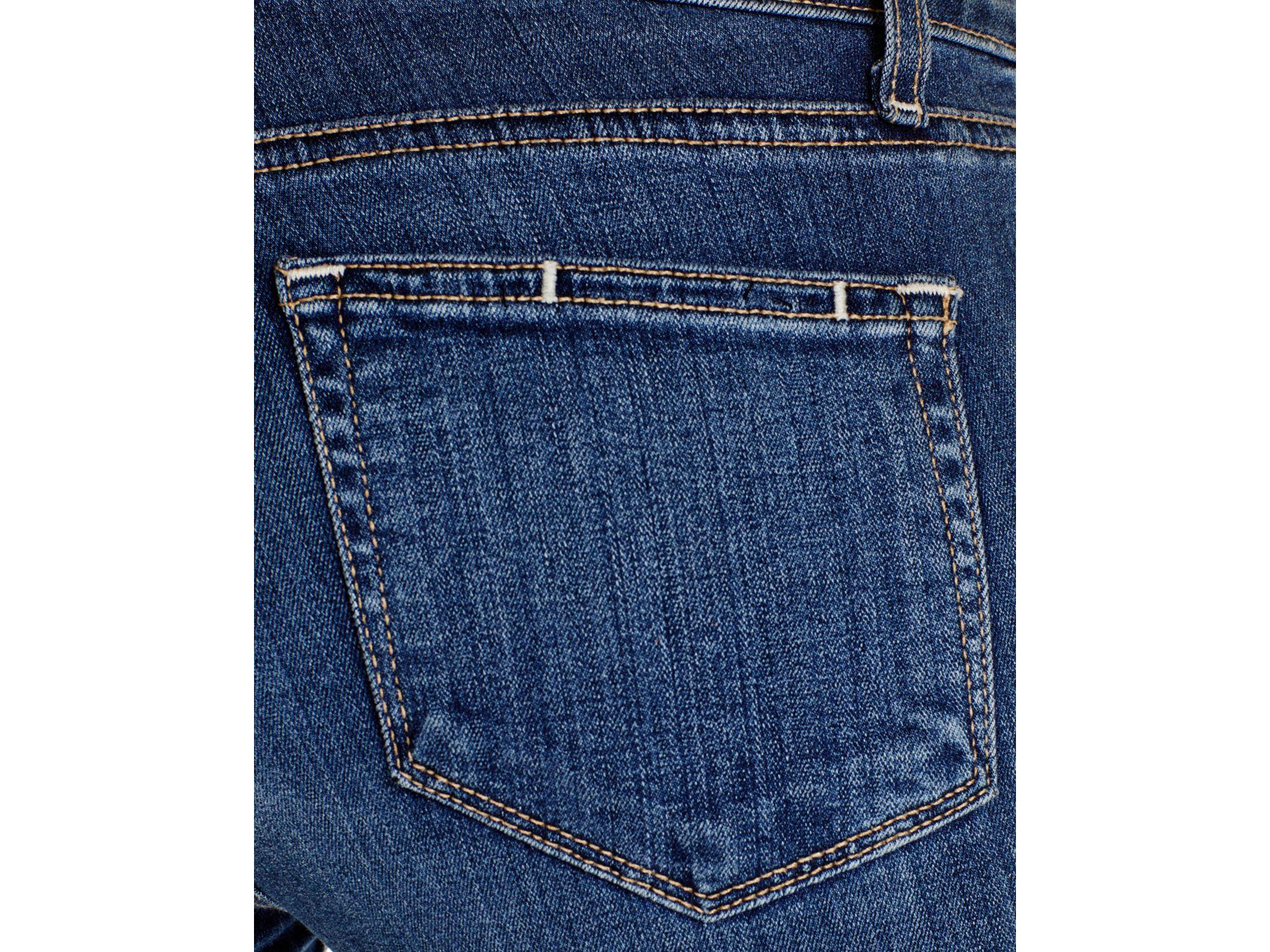 PAIGE Denim Verdugo Ankle Jeans In Tristan in Blue