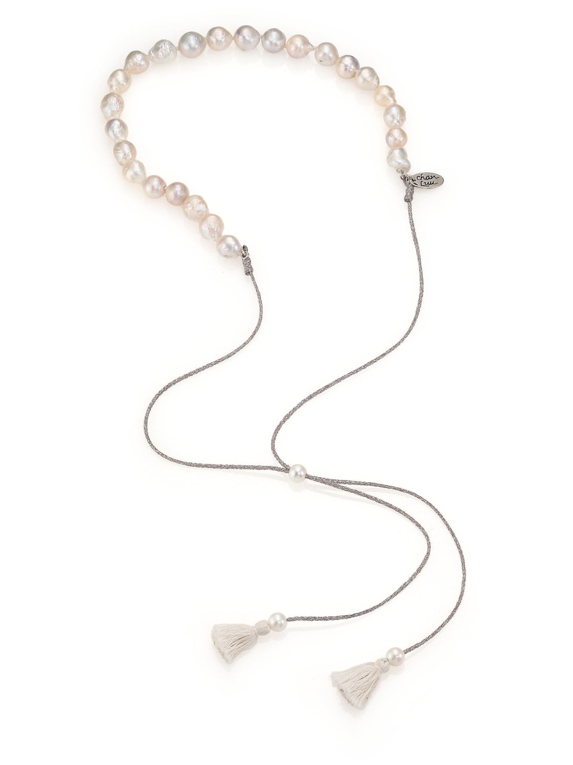 Chan Luu Beaded Tassel Choker Necklace PVqNqsRdoX