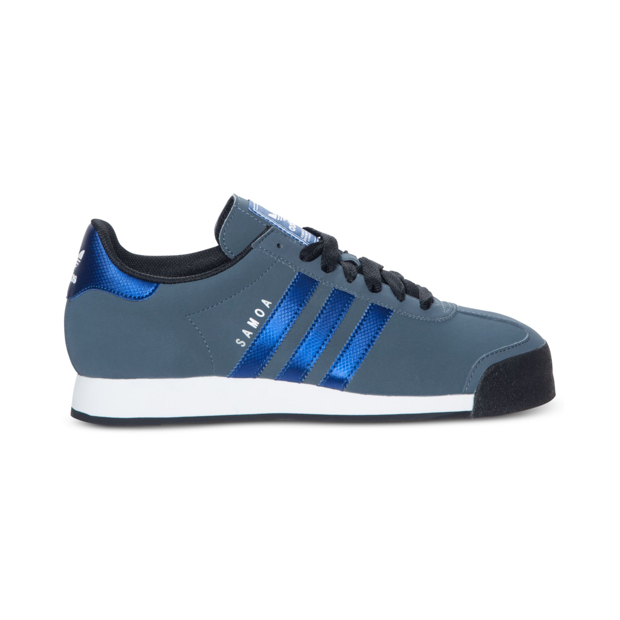 Lyst - Adidas Samoa Sneakers in Blue for Men