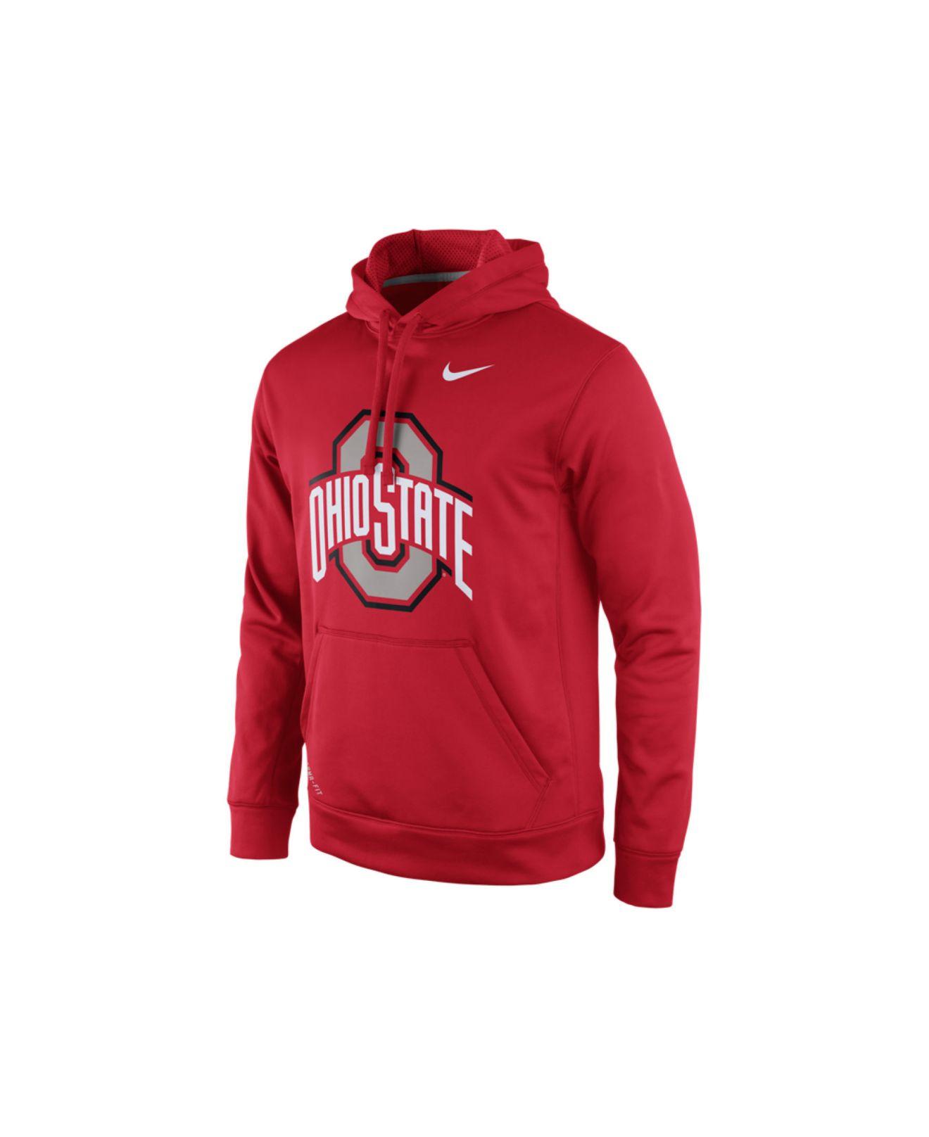 Nike Hoodie Performance State Ohio Men's Buckeyes Lyst Practice In Udqx4U