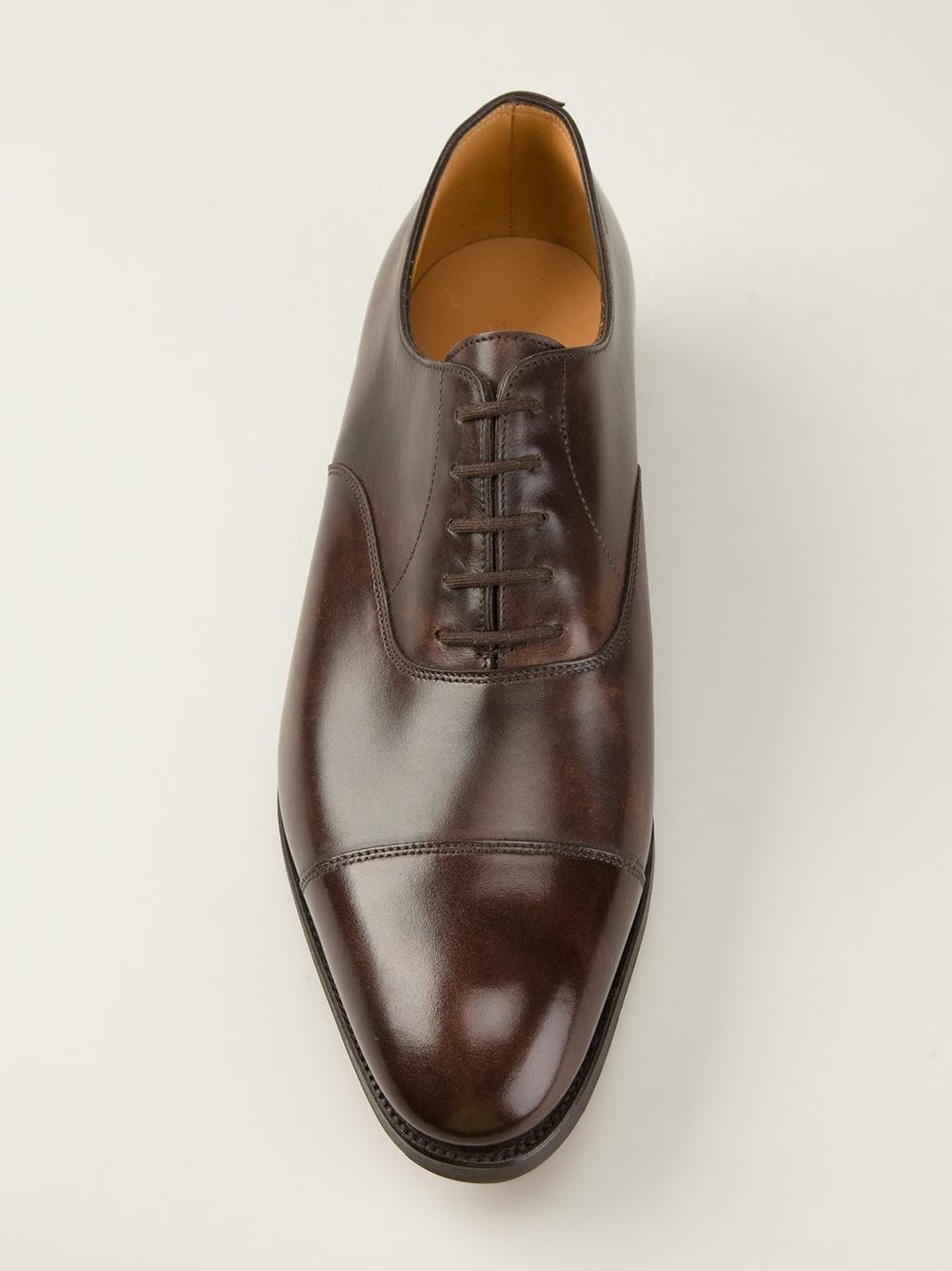 John Lobb Shoes >> Lyst - John Lobb 'city 2' Oxford Shoes in Brown for Men