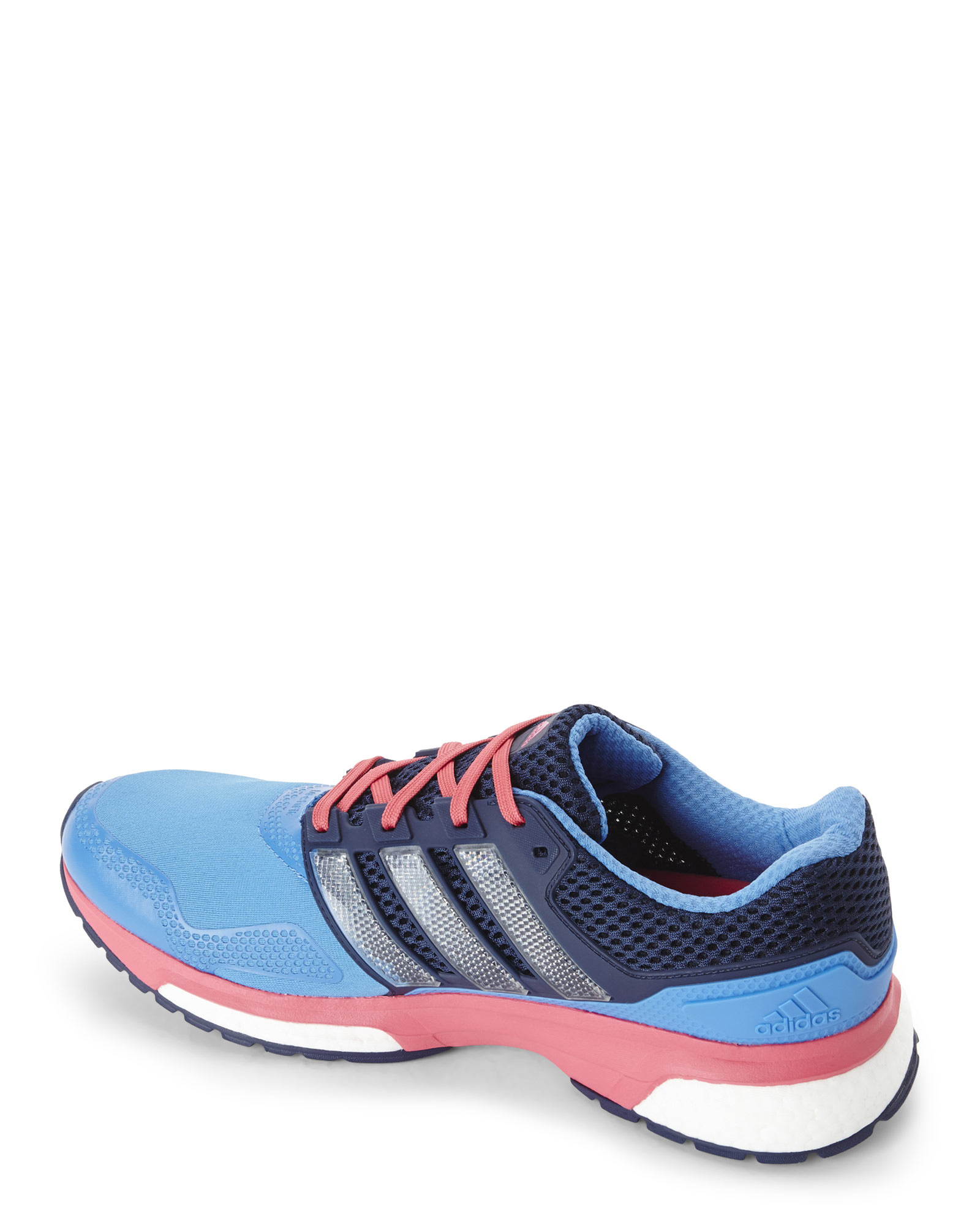 Lyst - Adidas Blue   Navy Response Boost Techfit Sneakers in Blue f06cc8cec