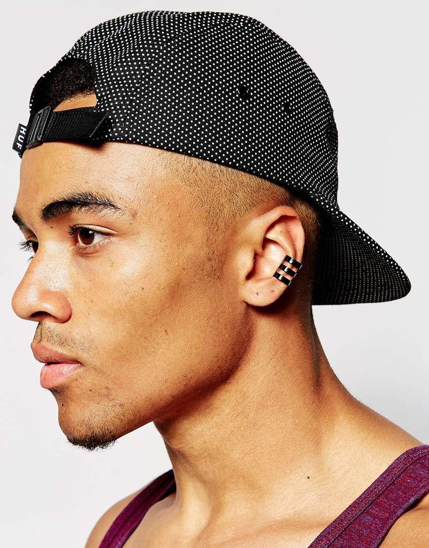 Asos Ear Cuff Pack For Men Lyst