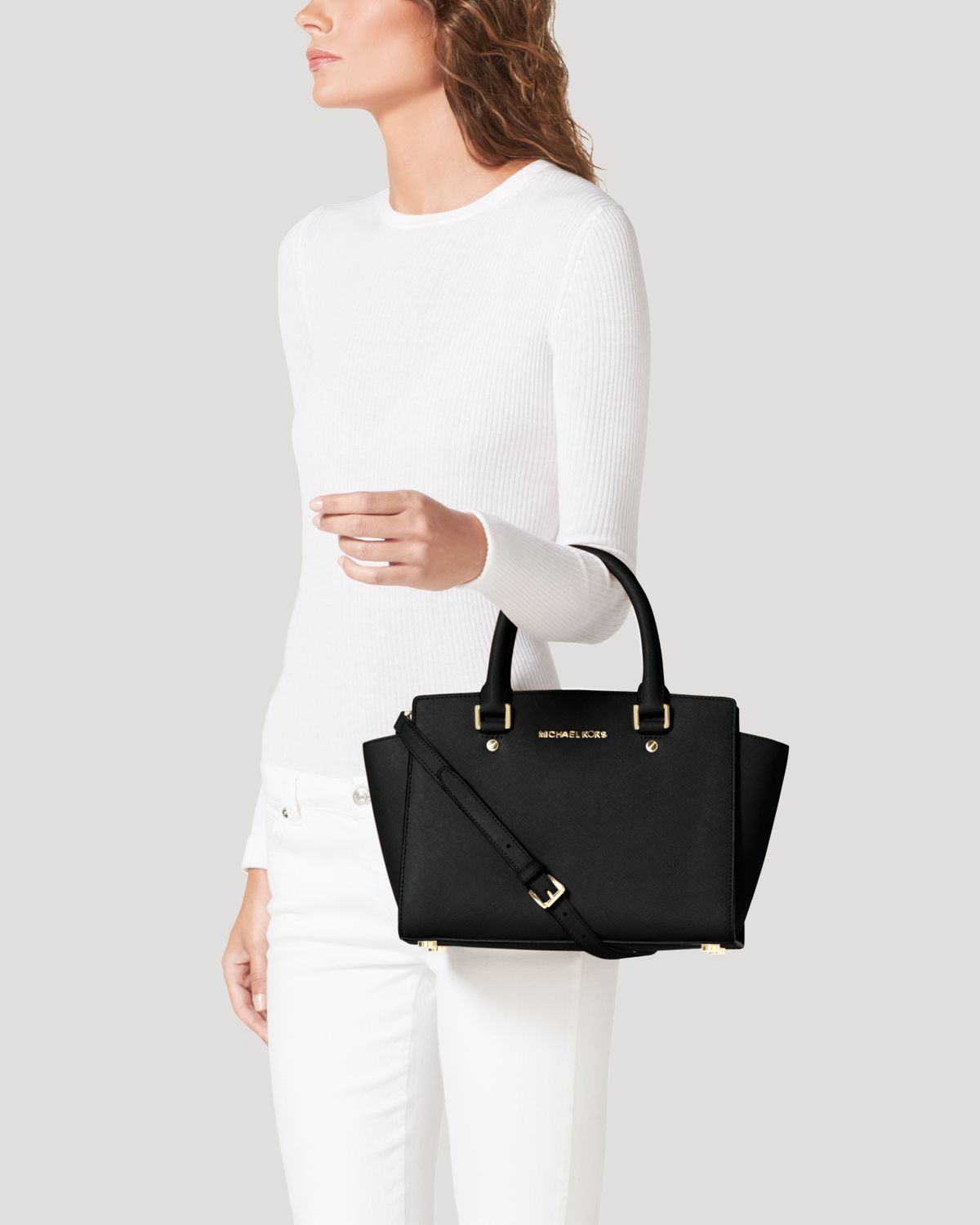 4e64947dbfdc Gallery. Previously sold at: Bloomingdale's · Women's Michael By Michael  Kors Selma