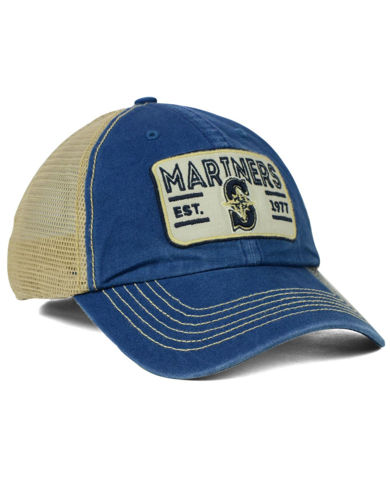 quality design a95ed 31ec7 ... real lyst 47 brand seattle mariners goin yard mesh cap in blue for men  57c59 1813a
