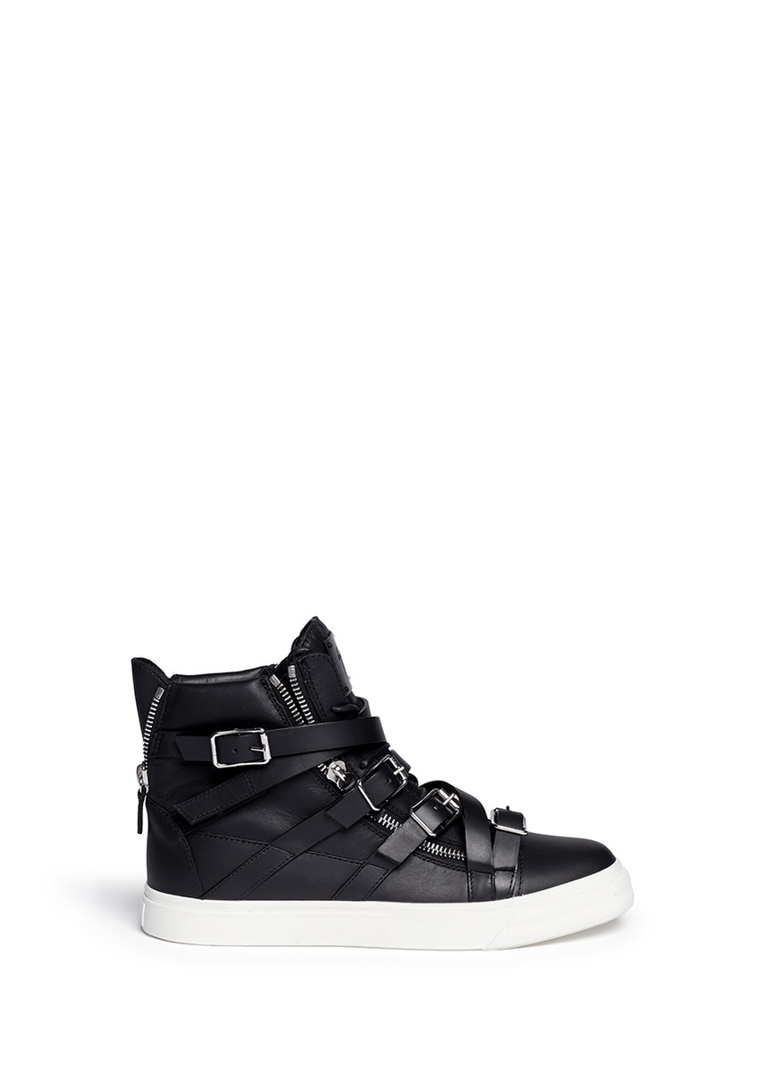 Giuseppe Zanotti London High-Top Sneakers w/ Tags Inexpensive for sale QzpzX5yn