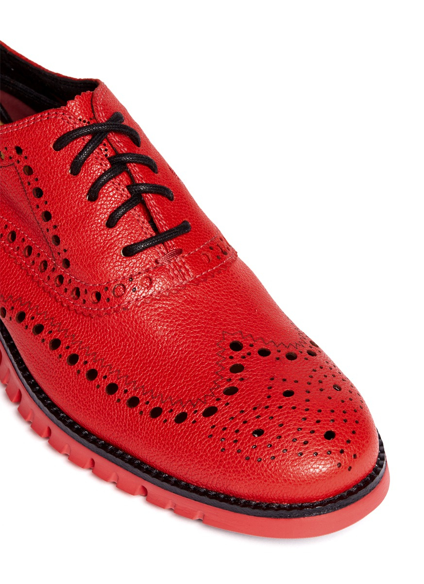 Cole Haan 'Zerogrand' Leather Oxfords