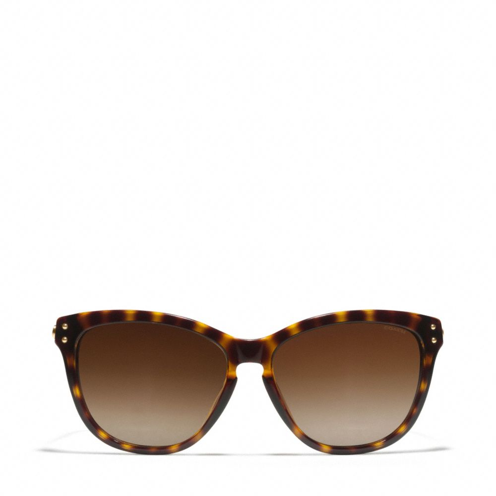 Lyst Coach Celia Sunglasses In Brown