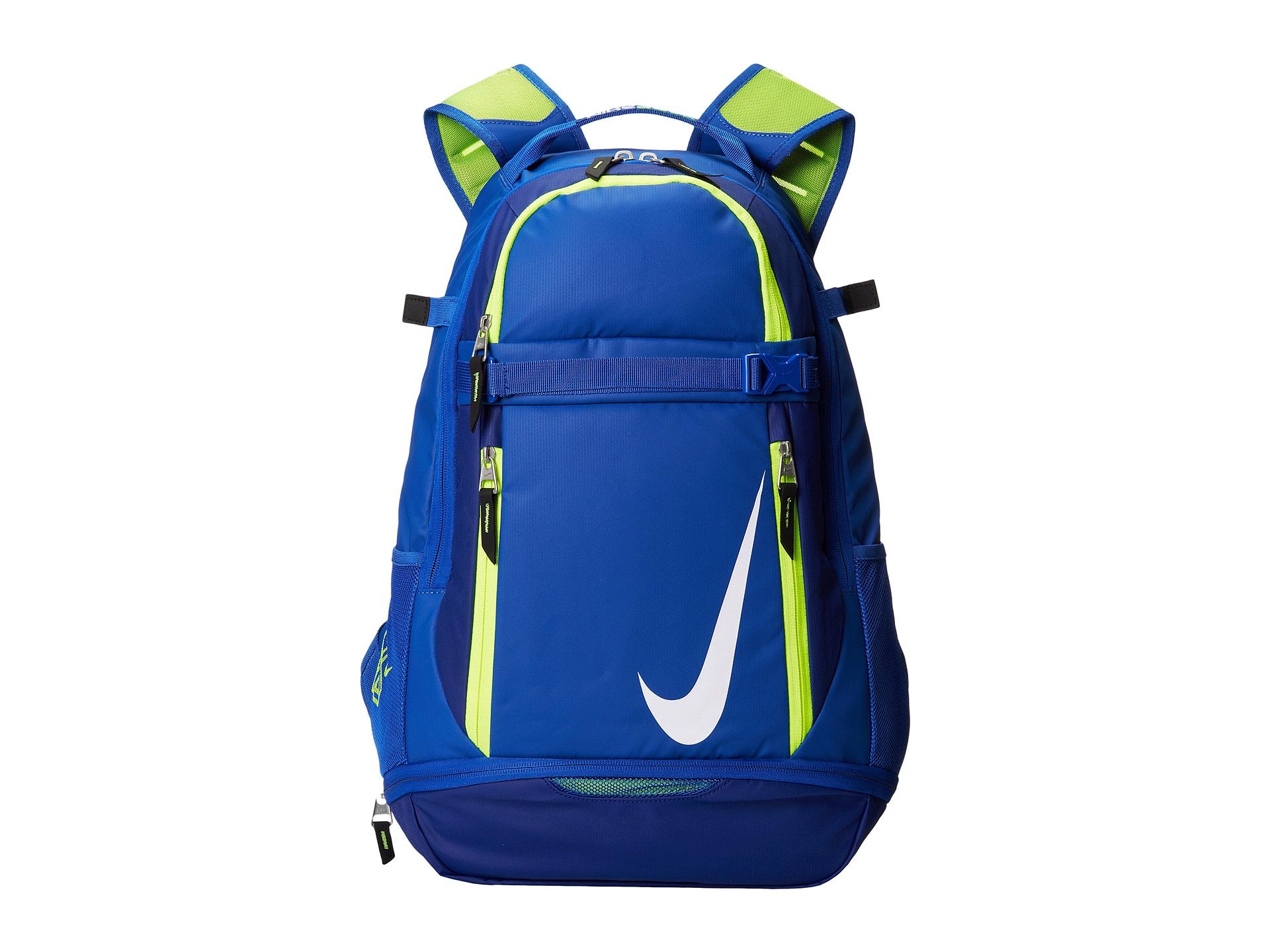 Nike Vapor Elite Backpack In Blue Lyst