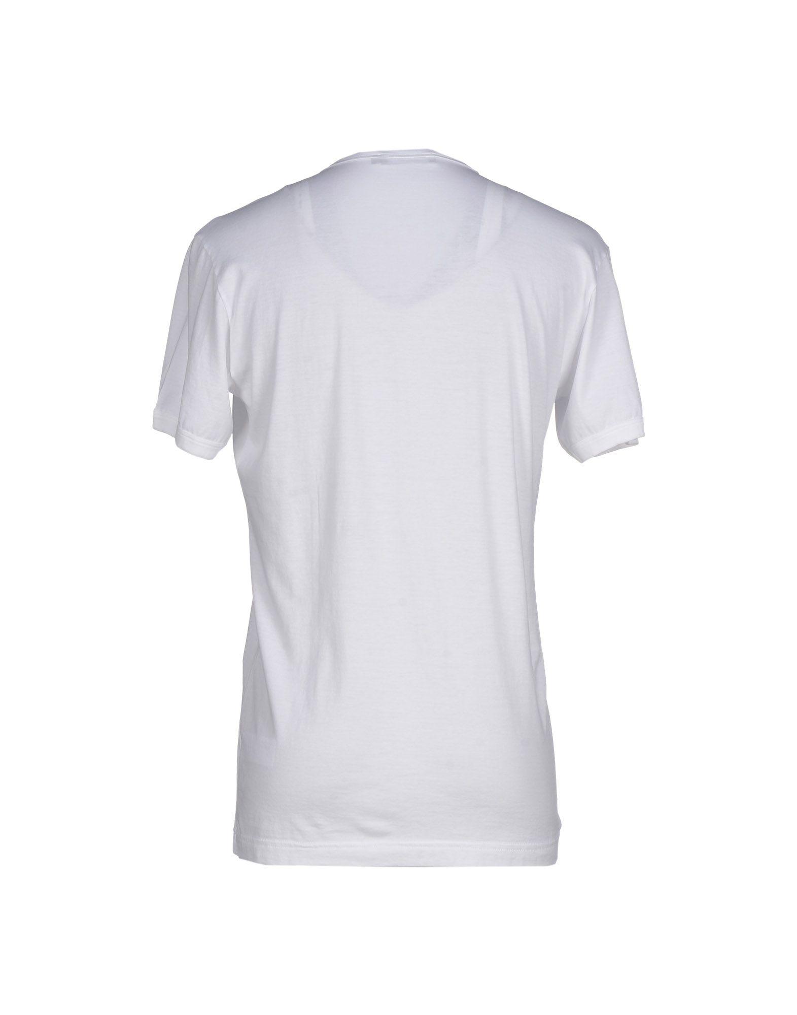 dolce gabbana t shirt in white for men lyst. Black Bedroom Furniture Sets. Home Design Ideas