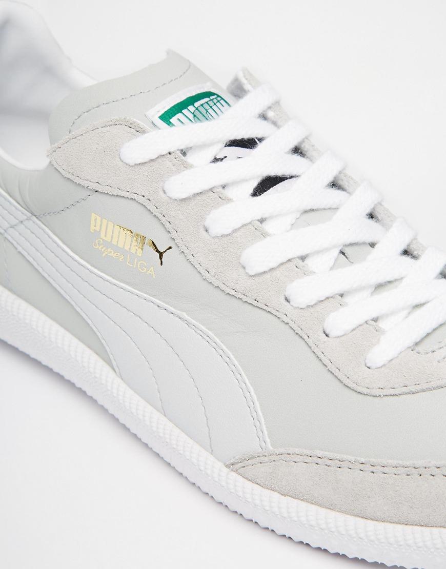 PUMA Super Liga Og Sneakers in Grey