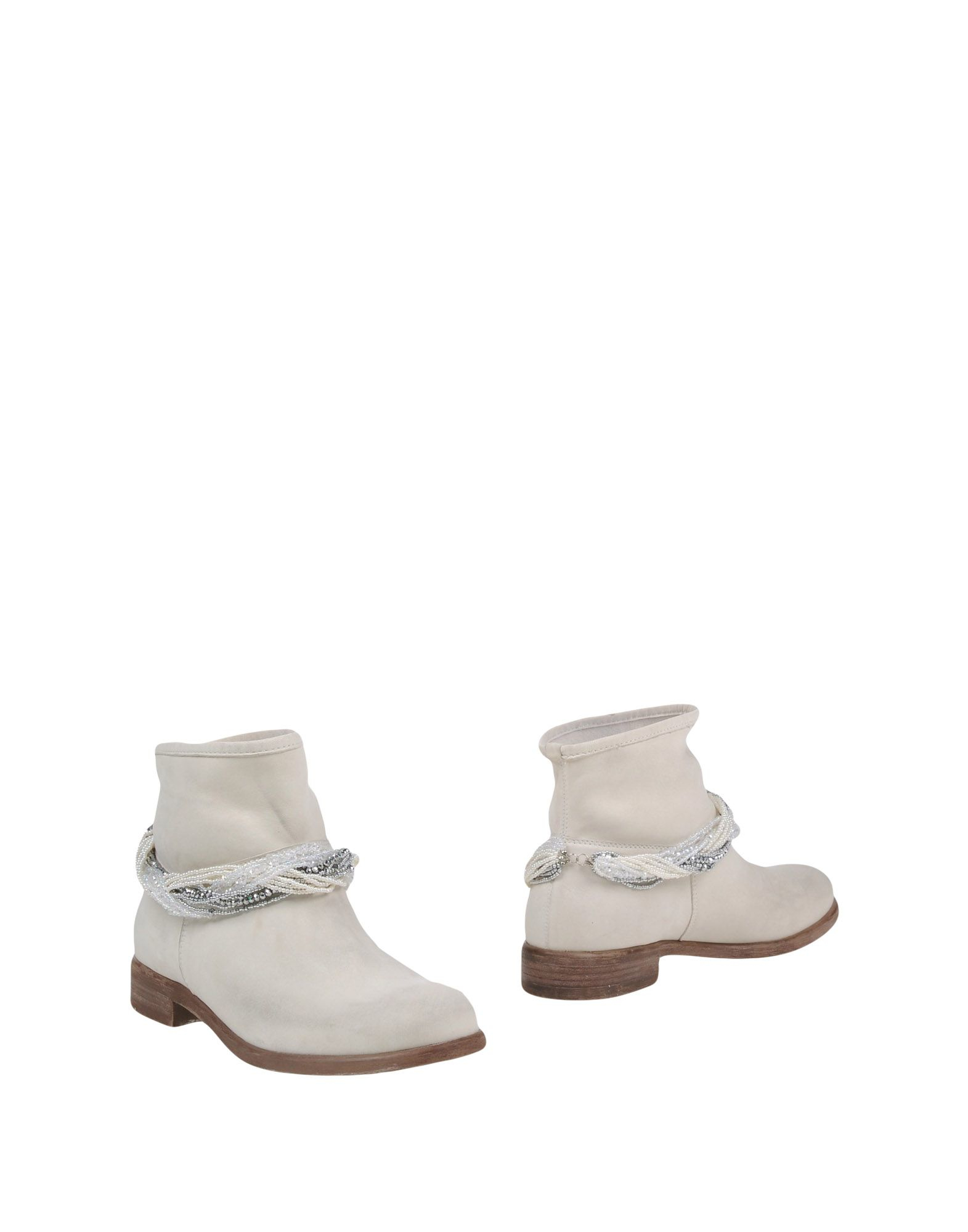 tosca ankle boots in white lyst