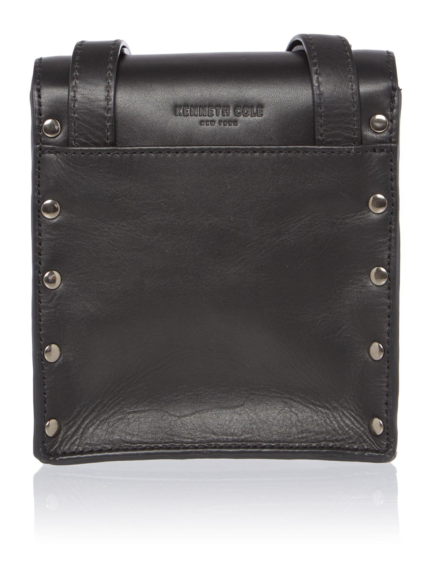 Kenneth Cole Cooper Black Small Crossbody Bag