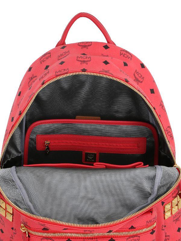 mcm  u0026 39 stark u0026 39  backpack in red