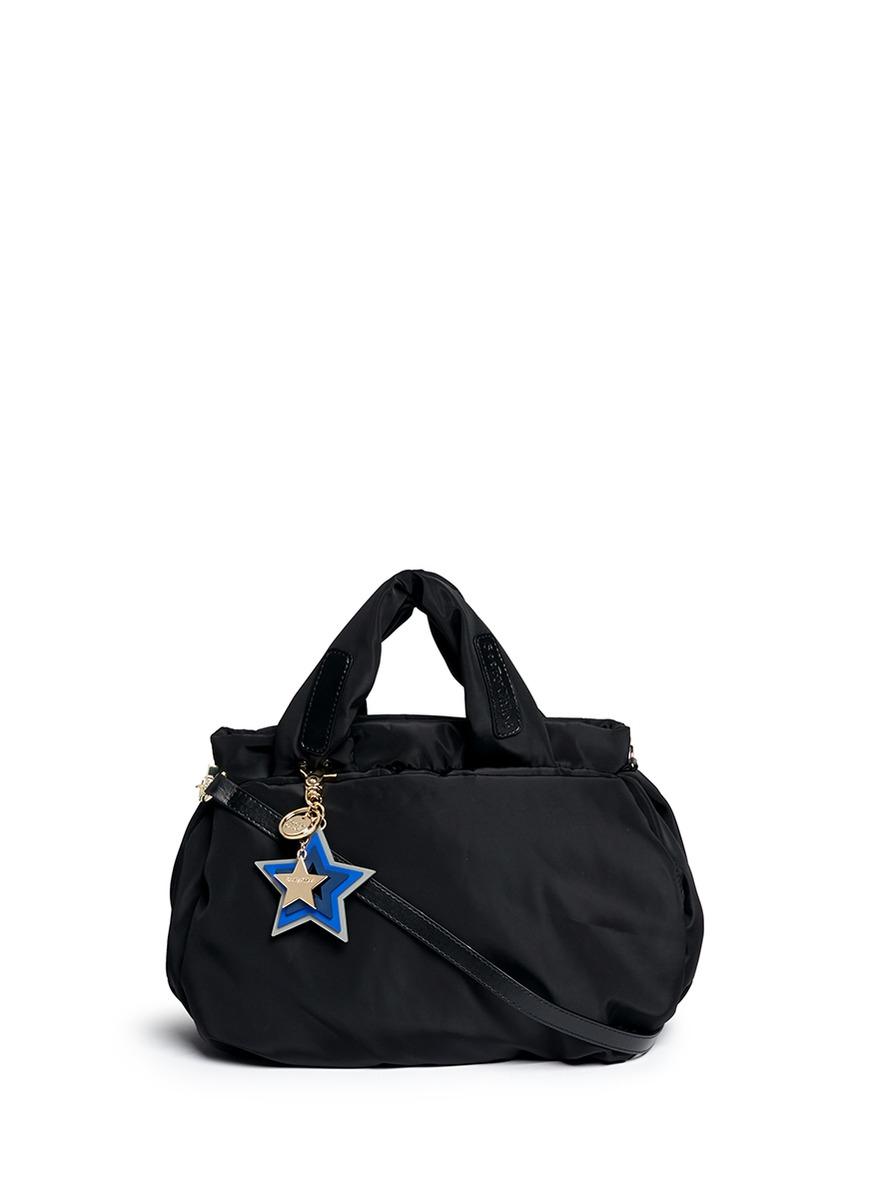 a6a1d9b92f68 See By Chloé  joy Rider  Small Nylon Puffer Bag in Black - Lyst