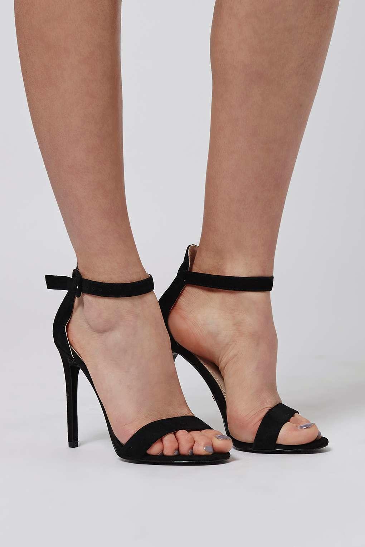 b16fc4d25b7 TOPSHOP Black Rita Skinny Sandals
