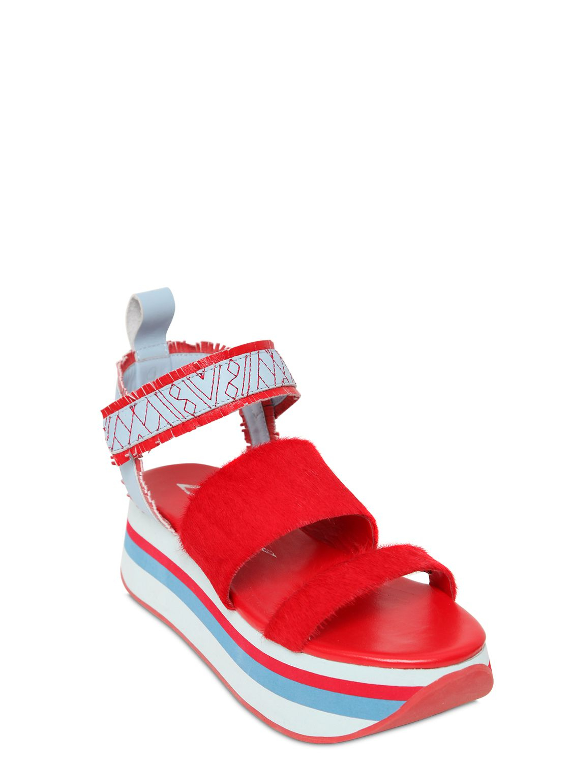 Women S Shoes With Velcro Closure And Wedge