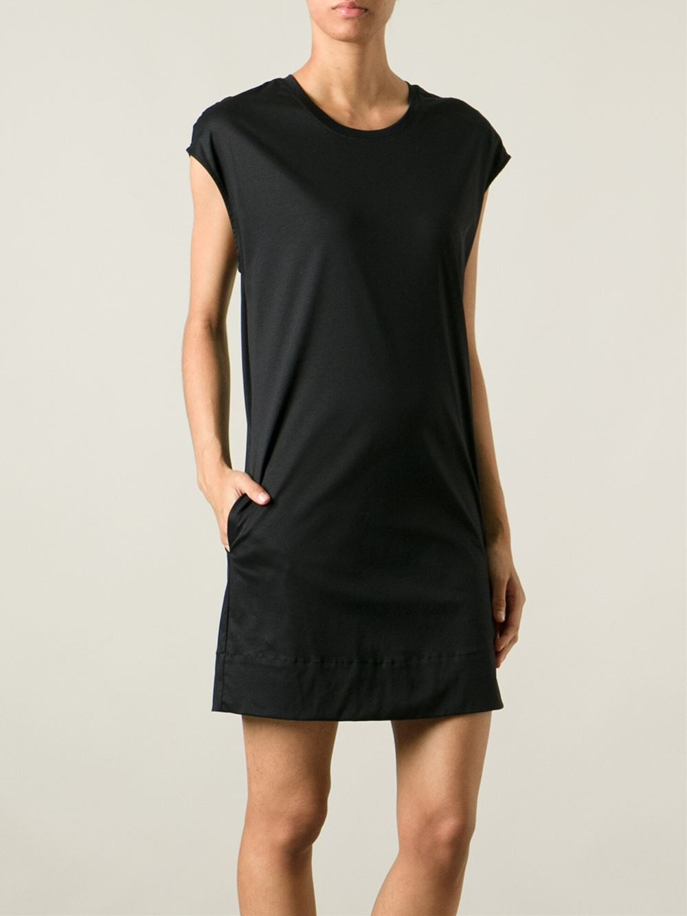 Black t shirt jersey dress - Gallery Previously Sold At Farfetch Women S Jersey Dresses Women S T Shirt Dresses