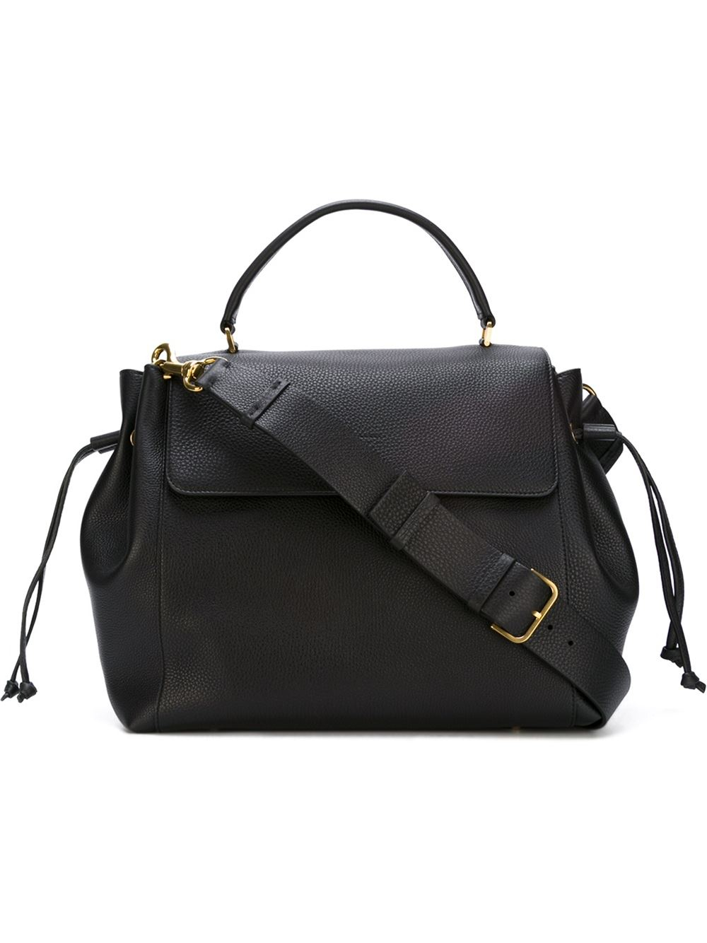 Lanvin Large Classic Tote In Black Lyst