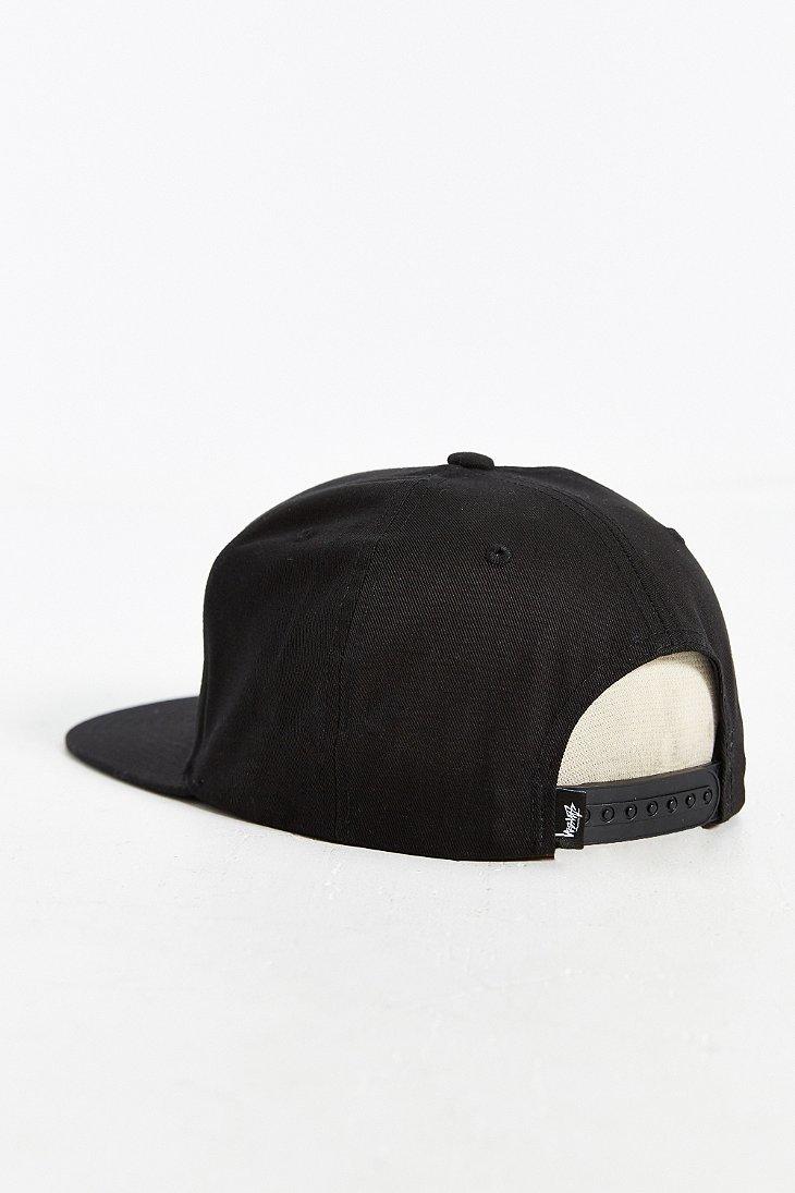 8fd51eac0c3 Lyst - Stussy International Flags Snapback Hat in Black for Men