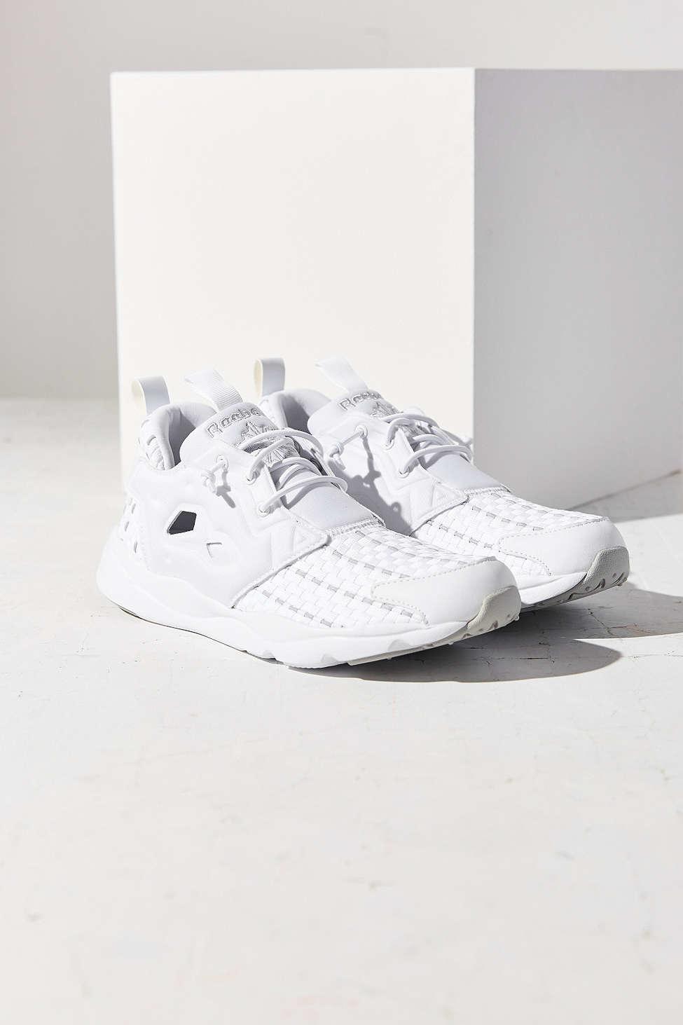 e802013f32d9 Reebok Furylite New Woven Sneaker in Blue - Lyst
