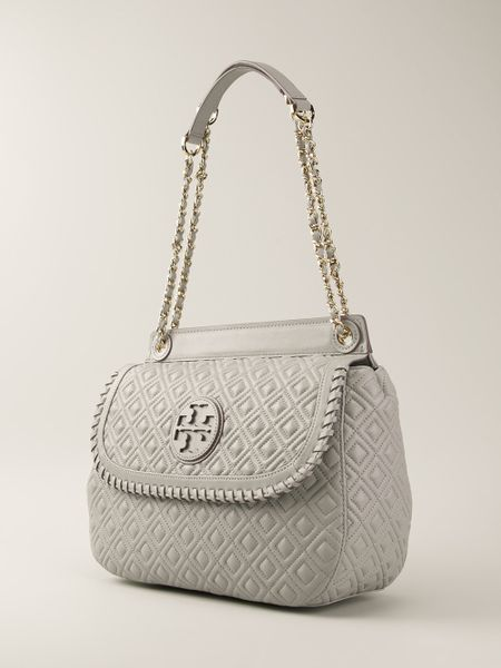 Tory Burch Quilted Cut Out Shoulder Bag 58