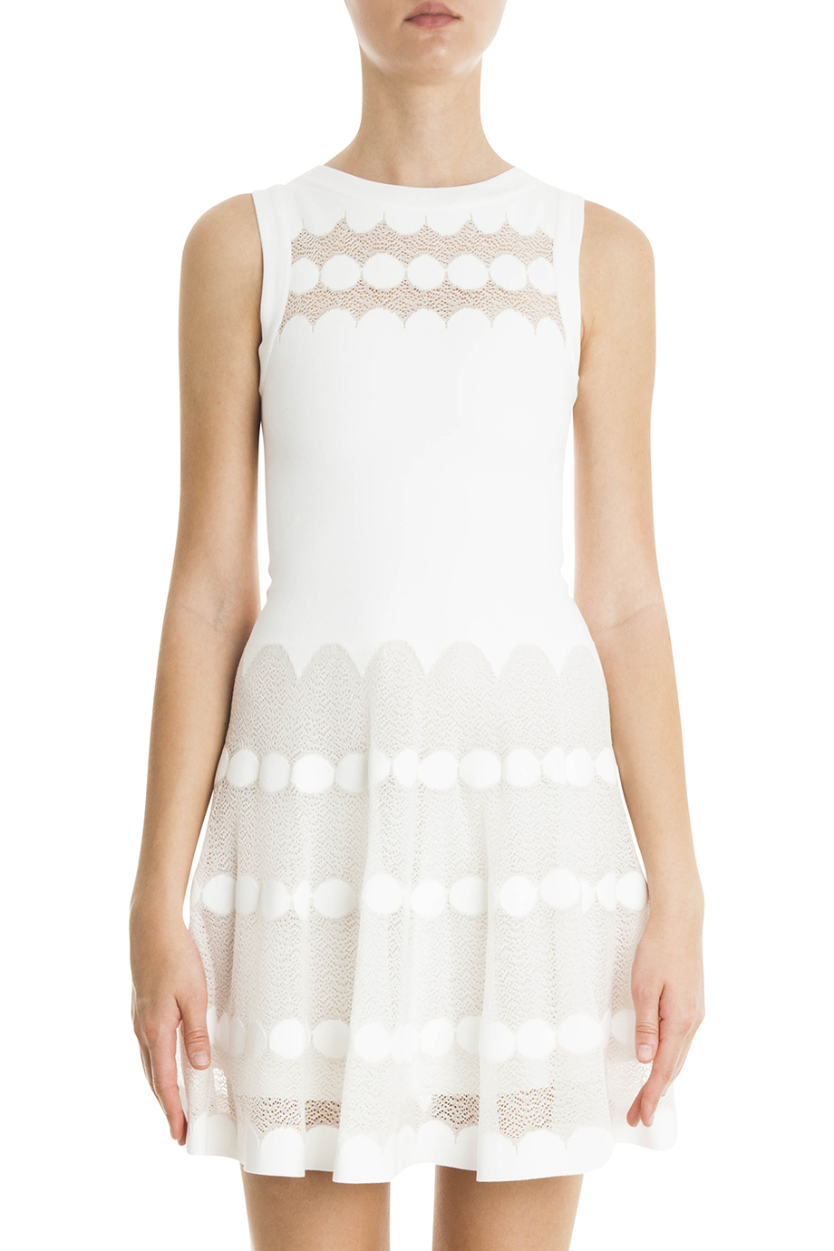 Azzedine Alaia White Dress