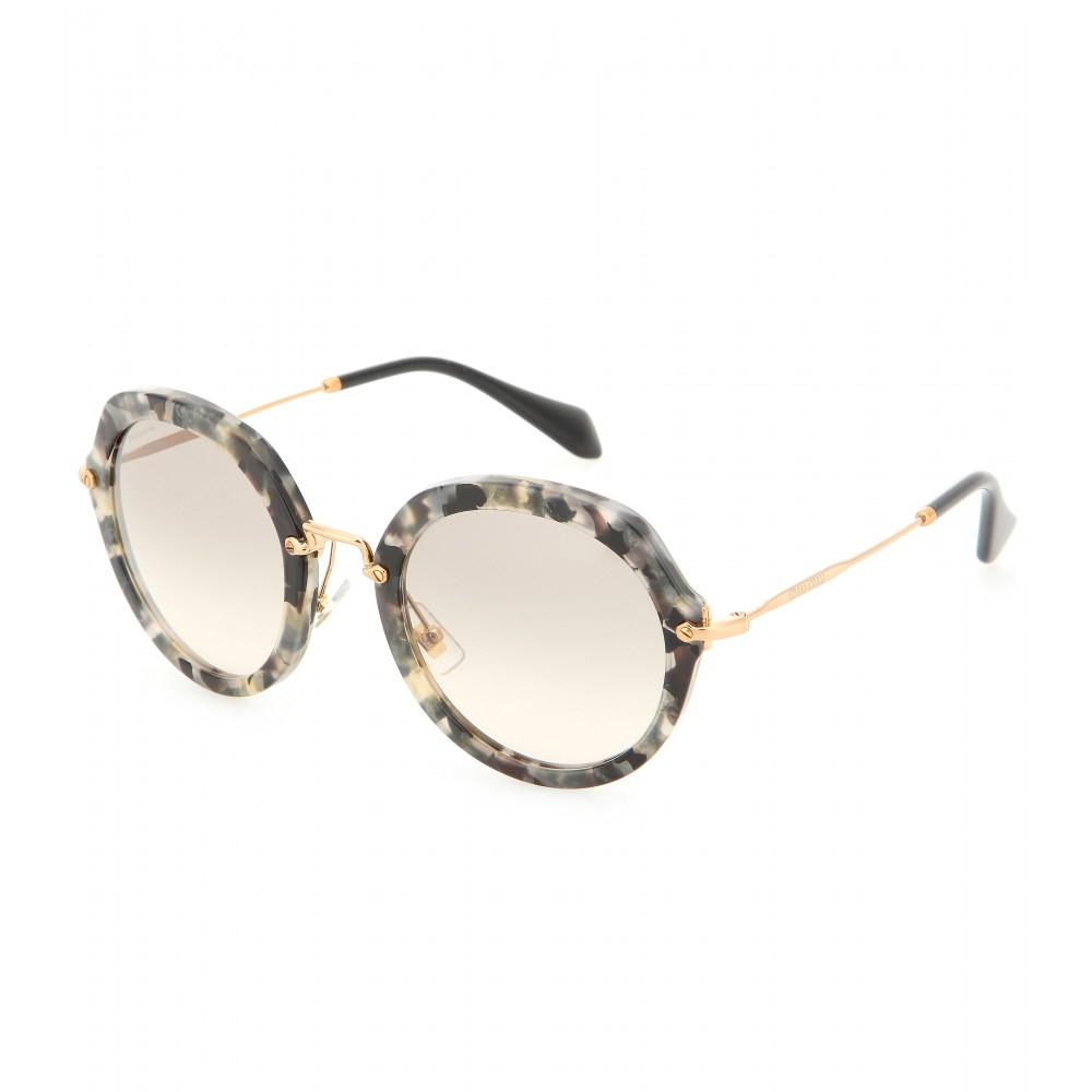 1273110ec109 Miu Miu Round Sunglasses Ebay