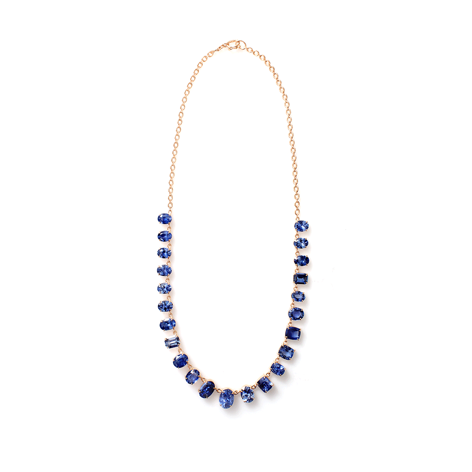 Irene neuwirth Limited Edition Ceylon Sapphire Necklace in Blue ROSEGOLD