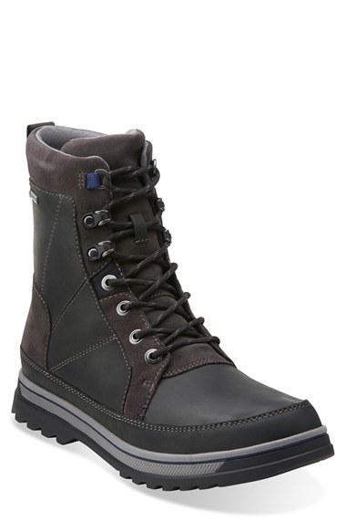 661277f4716 Clarks Black 'ripway Peak' Gore-tex Boot for men