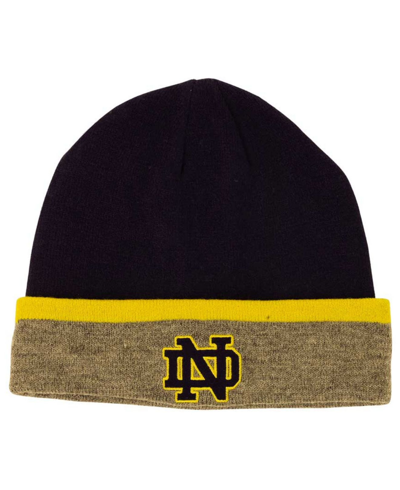 ... order lyst under armour notre dame fighting irish sideline cgi knit hat  314d5 cf655 76d98576aeae
