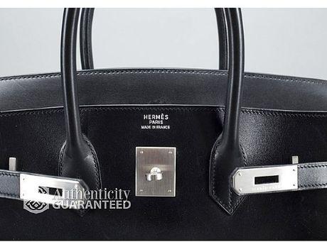 Hermes Birkin Box Calf Leather Black Box Calf Birkin 35