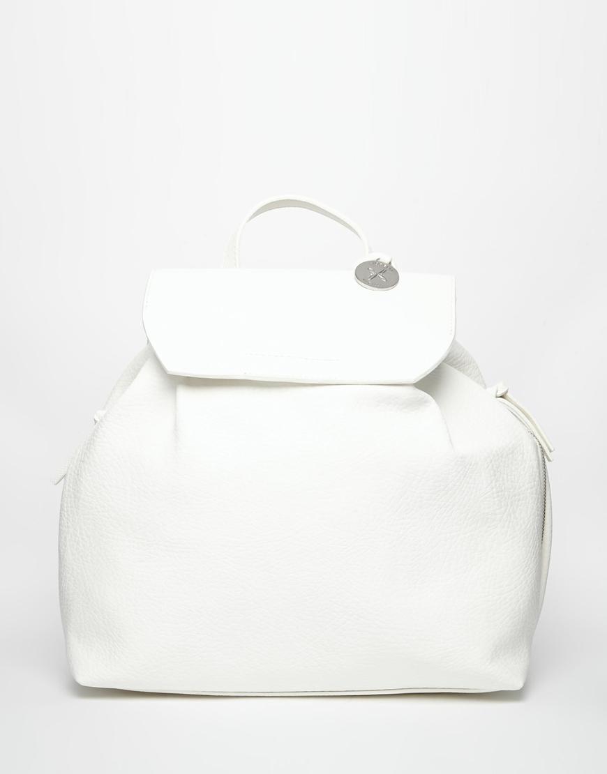 Lyst - Fiorelli Blakely Foldover Backpack - White in White