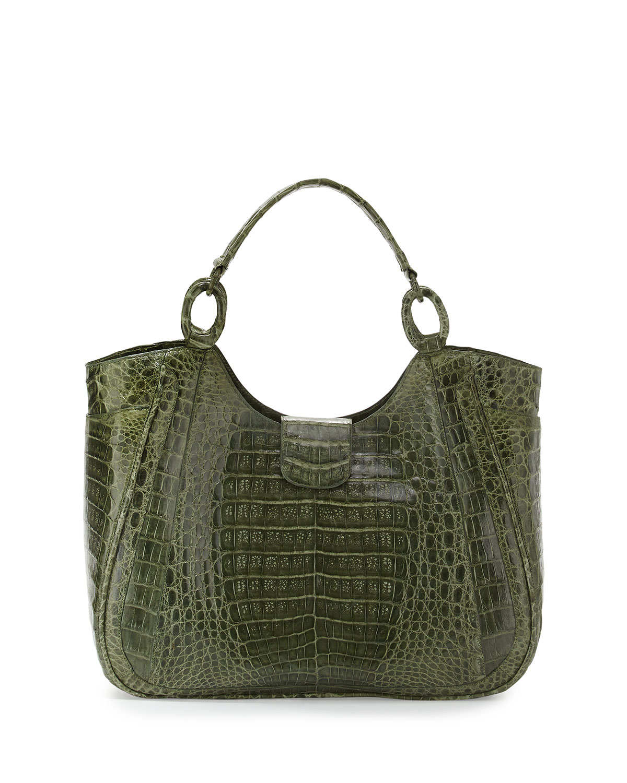 Lyst nancy gonzalez medium dipped crocodile tote bag in for Nancy gonzalez crocodile tote