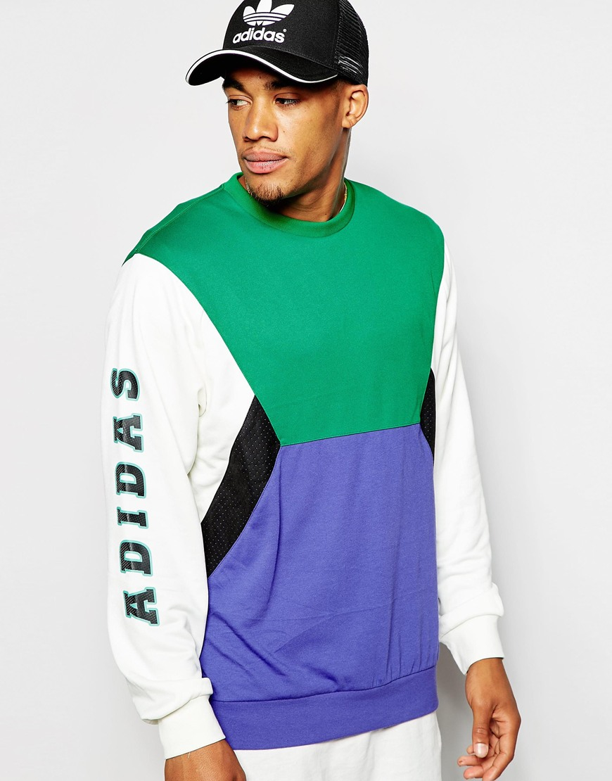 adidas classic sweat shirt